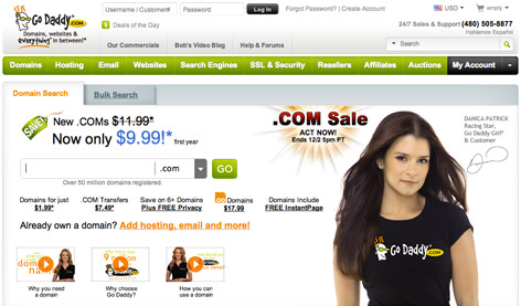 ... godaddy GoDaddy Review A Domain Registry and Hosting Company